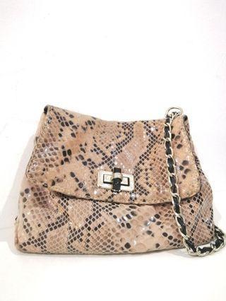 Cream woman bag