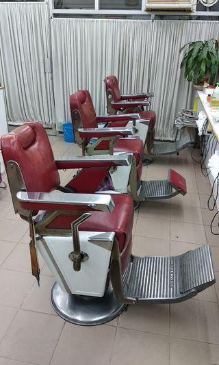 舊式上海理髮椅 日本製 Barber chair
