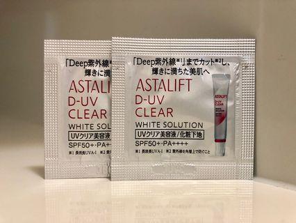 Astalift D-UV Clear SPF50+/PA++++ 全效防曬霜 0.7g