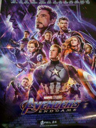 全新 復仇者聯盟4 電影海報 marvel avengers endgame poster