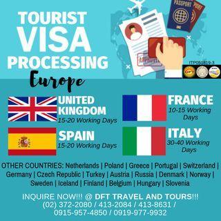 Europe / Schengen Visa (Tourist Visa Processing)