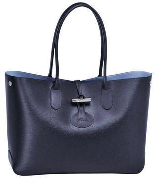 Longchamp Roseau in Dark Blue
