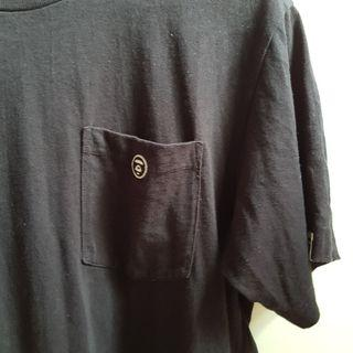 Aape Black Pocket Tee Size M