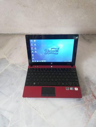 Hp mini, Touchscreen, Red Edition,Atom processor, 1.83 GHz CPU speed