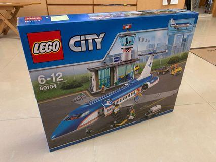 Lego 60104 Airport Passenger Treminal 全新