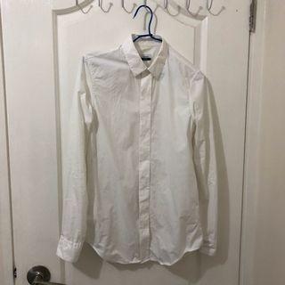 Jil sander signature White Shirt 梁朝偉無間道着用 raf simons