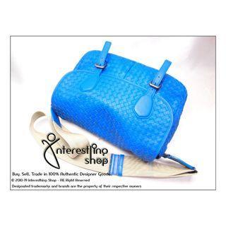 Starting Bid: $650 END 19/05 5 PM - # LC04. Authentic Pre-Owned Bottega Veneta Intrecciato Messenger Bag (NON-NEG)