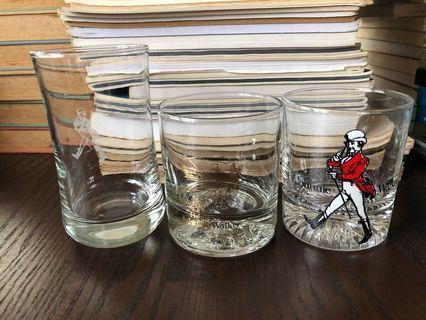 Vintage Glasses Johnnie Walker Fishing Mint new