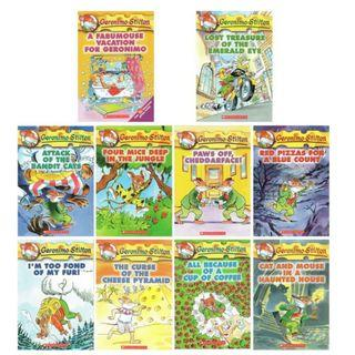 Geronimo Stilton Series (#1-10)