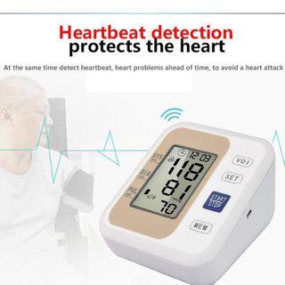 🚚 Digital Automatic Electronic Arm Sphygmomanometer Blood Heart Monitor With Voice