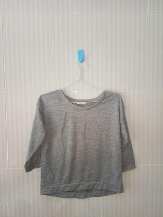 Blouse Grey New