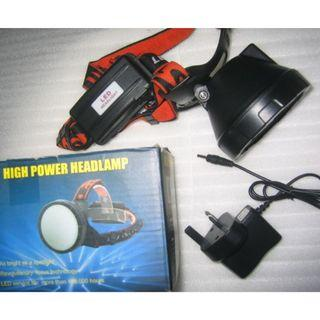 high power headlamp for trekking camping fishing . do not like people to use for biking