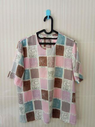 Blouse Colorful