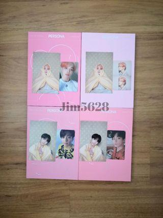 [WTS] BTS PERSONA Map of The Soul Jimin Jungkook Photocard
