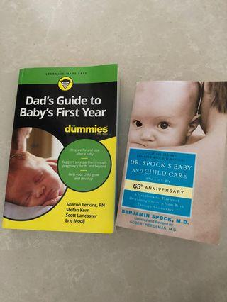 🚚 Dads guide to baby's first year. Dr Spock's baby and child care book