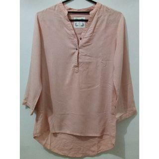 Blouse Wanita Dot Salem