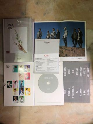 WTS SEVENTEEN TEENAGE WHITE VER ALBUM