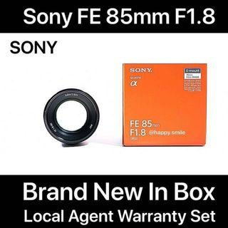 Limited Stock ! Sony FE 85mm f1.8