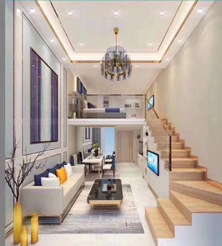 中山西區旺街地段,複式精品公寓,買一層送一層,總價30萬一間,不限購不限貸