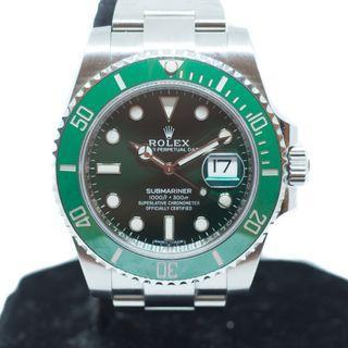 Like New Rolex Submariner 'Hulk' Ref: 116610LV