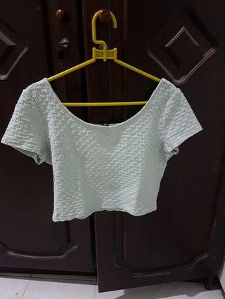 crop top divided hnm