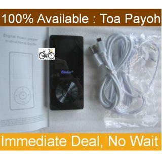 MP3 Player 8GB with built-in speaker, and Voice Recorder, FM Radio functions
