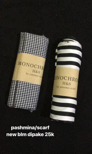 Monochrome Scarf by Umama