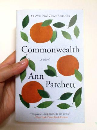 Commonwealth (a novel by Ann Patchett)