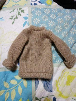 BJD 1/4 or 1/3 sweatshirt