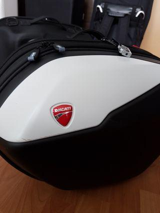 Ducati side panniers for Supersport / S