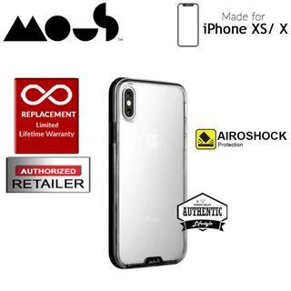 Mous Clarity Case for iPhone Xs / X  - Clarity Black