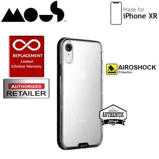 Mous Clarity Case for iPhone XR - Clarity Black
