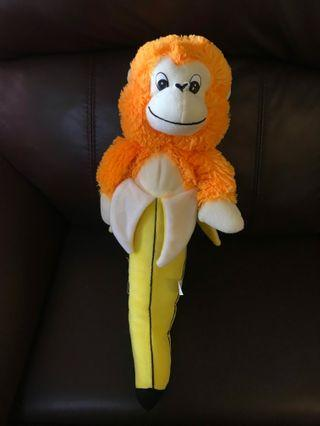BNWTmonkey with banana soft toy