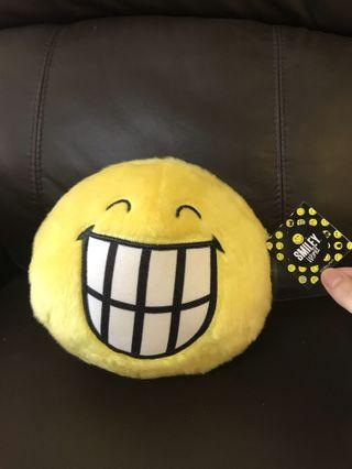 BNWT smiley soft toy