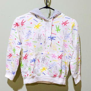 #BAPAU white jacket for kids / jaket putih untuk anak