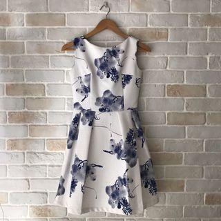 oriental bloom dress
