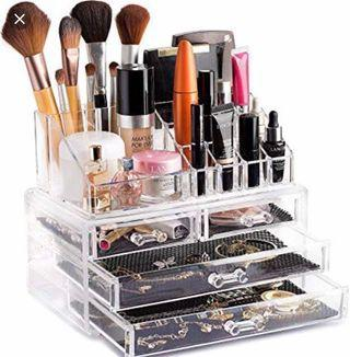 🚚 Acrylic Makeup and Jewellery Cosmetics Organiser #MRTBedok