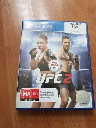 🚚 UFC 2 PS4