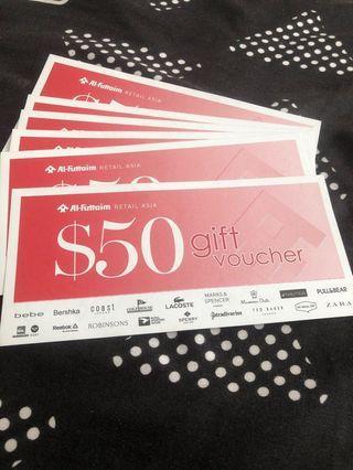 Shopping Vouchers worth $300