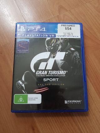 🚚 Gran Turismo Sport for ps4