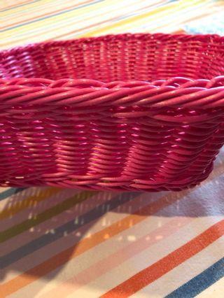 🚚 Kids pink basket