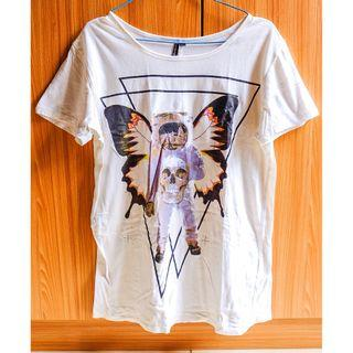 #BAPAU kaos putih / white t-shirt