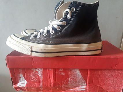 Jual sepatu converse chuck taylor 70s ori size 40 fit 41