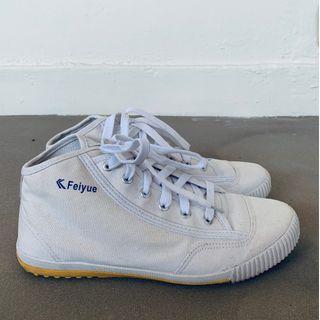 Feiyue High Top White