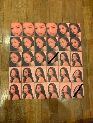 Blackpink Jennie Kill This Love Official Puzzle Piece