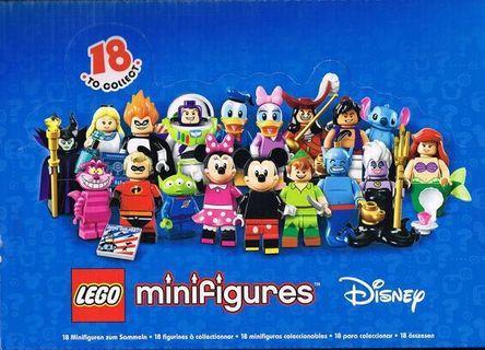 🚚 全新!樂高LEGO 71012 迪士尼一代人偶原盒60包入