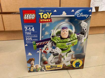 Lego 7592 Toy story Buzz Lightyear 全新