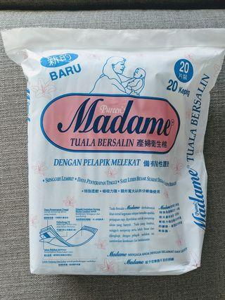 Madame Maternity Pads and Disposable Underwear