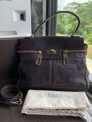 Max Mara Leather Margaux Bag