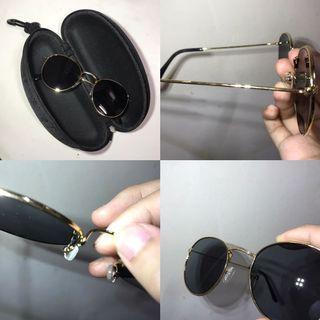 金框黑墨鏡(送左上的眼鏡盒)
